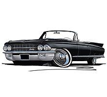 Cadillac Eldorado Biarritz (1962) Black Photographic Print