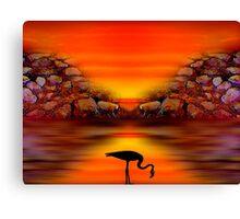 Sunset 9 Canvas Print