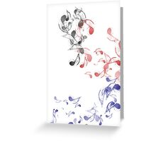 music note Greeting Card
