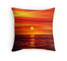 Sunset 10 Throw Pillow