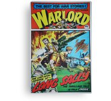 Warlord - Long Sally  Canvas Print