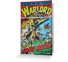 Warlord - Long Sally  Greeting Card