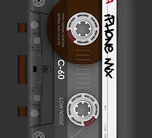 Audio Cassette Tape by Alisdair Binning