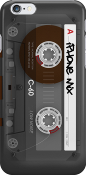 Audio Cassette Tape by Alisdair Binning