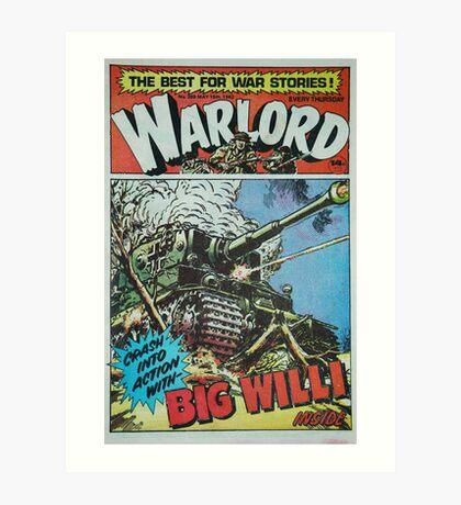 Warlord - Big Willi Art Print