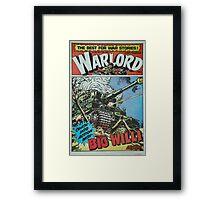 Warlord - Big Willi Framed Print