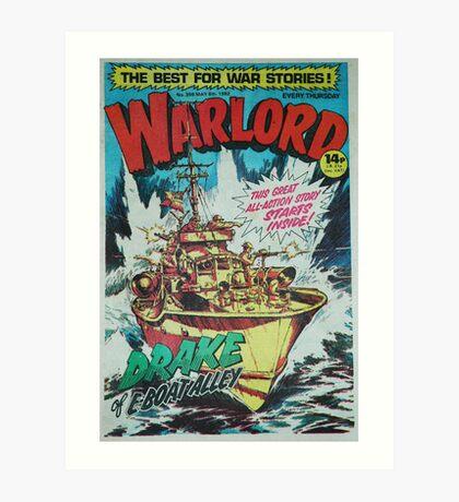 Warlord - Drake Art Print