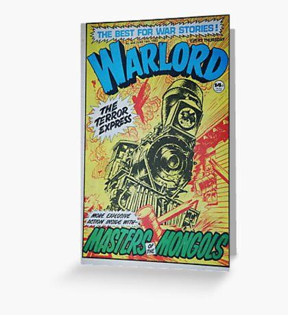 Warlord - The Terror Express Greeting Card