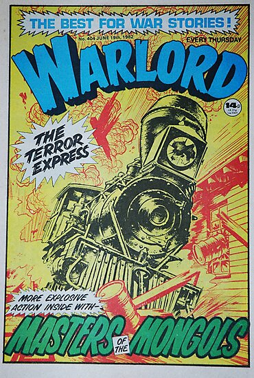 Warlord - The Terror Express by James Stevens