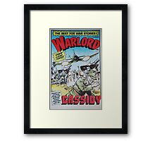 Warlord - Cassidy Framed Print