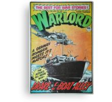 Warlord - Drake 3 Canvas Print