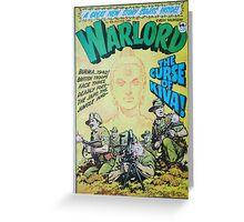 Warlord - The Curse of Kiva Greeting Card