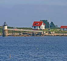 Ram Island Lighthouse by Jack Ryan