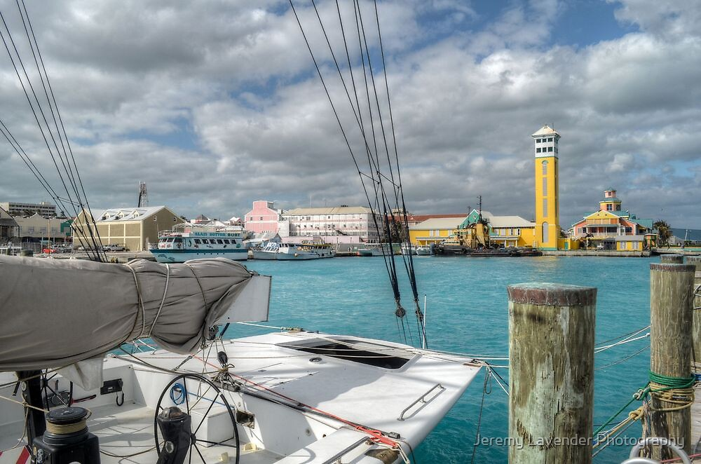 Festival Place and Harbour in Nassau, The Bahamas by Jeremy Lavender Photography