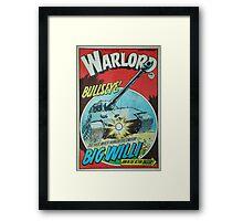 Warlord - Bullseye Framed Print