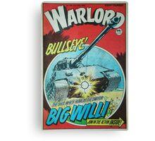 Warlord - Bullseye Canvas Print