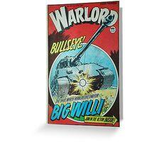Warlord - Bullseye Greeting Card
