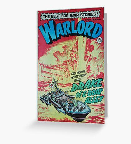 Warlord - Drake 4 Greeting Card