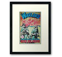 Warlord - Union Jack Jackson Framed Print