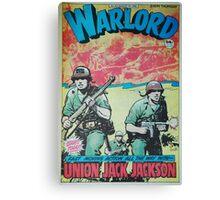 Warlord - Union Jack Jackson Canvas Print