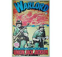 Warlord - Union Jack Jackson Photographic Print