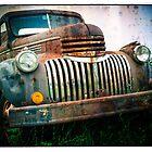 Old Rusty Chevy Truck by Edward Fielding