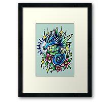 Seadra  Framed Print