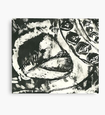 The Smudged Shell Canvas Print