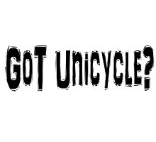 Unicycle by greatshirts