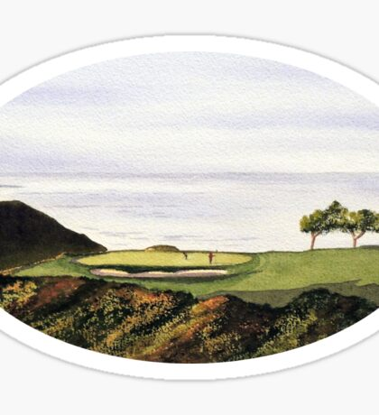 Torrey Pines South Golf Course Hole 3 Sticker