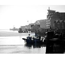 Newhaven West Quay Photographic Print