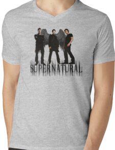 Supernatural FanArt Mens V-Neck T-Shirt