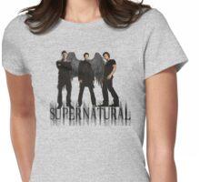 Supernatural FanArt Womens Fitted T-Shirt