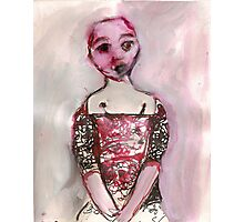 Stripped doll Photographic Print