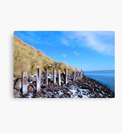 freezing erosion protection in ireland Canvas Print