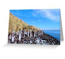freezing erosion protection in ireland Greeting Card