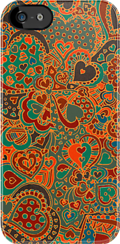 Doodle Hearts by an official DA Member. (Doodlers Anonymous) by micklyn