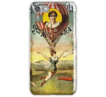 Vintage Circus Poster iPhone Case/Skin