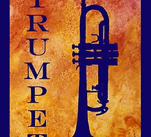 Trumpet by PaintboxCollage