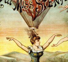 Vintage Circus Poster Sticker