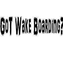 Wake Boarding by greatshirts