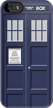 Tardis - Time And Relative Dimension In Space V2 - (iPhone) by Adam Angold