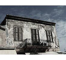 Worn Balcony Photographic Print