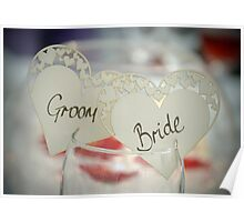 The Groom & Bride Poster