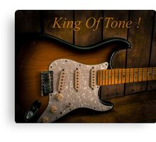 King of Tone Canvas Print