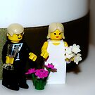 Minifig Wedding by James Stevens