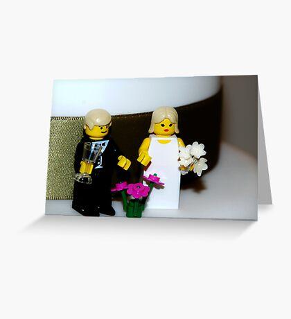 Minifig Wedding Greeting Card