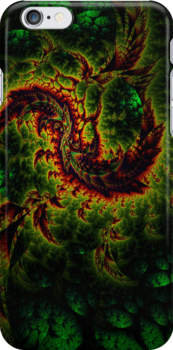 Dragon - iphone - ipod cases by Virginia N. Fred