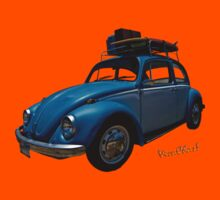 VW Surf Rod T-Shirt & iPhone Cover by ChasSinklier