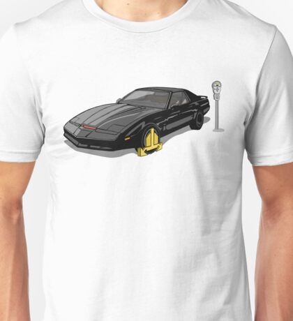 Knight Rider KITT Car Wheel Clamp  T-Shirt